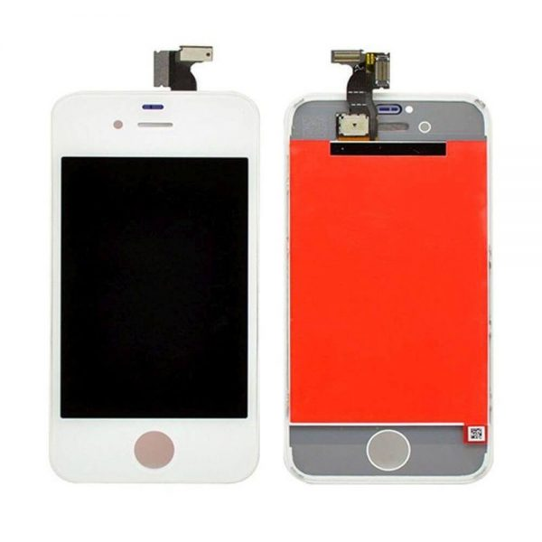 original apple iphone 4s lcd display and touch screen replacement combo white