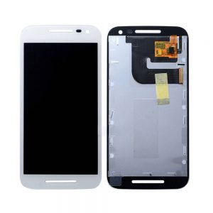 Moto G3 Display and Touch Screen Replacement White