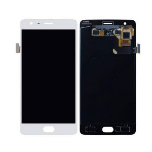 OnePlus 3T Display and Touch Screen Combo Replacement in India White (A3010)