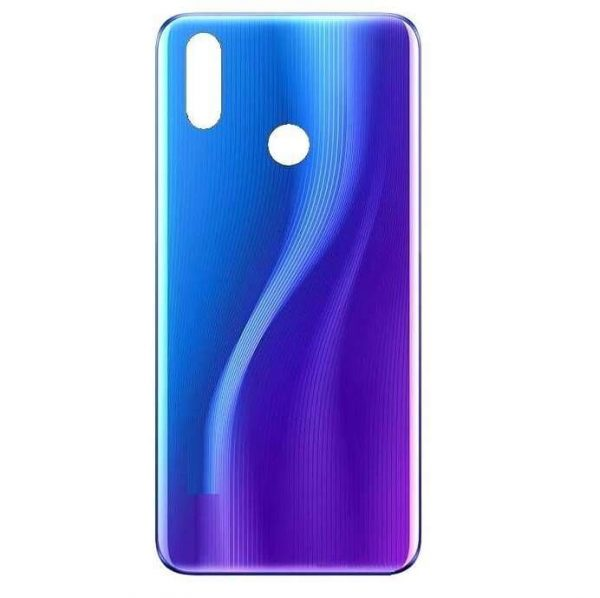 Realme 3 Pro Back Panel Housing Replacement - Blue