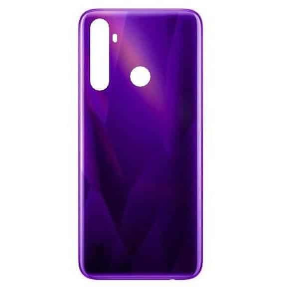 Realme 5 Back Panel Housing Replacement - Purple