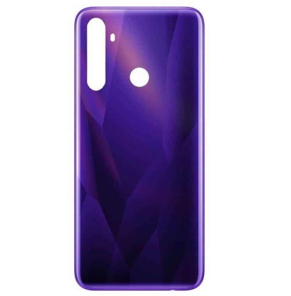 Realme 5s Back Panel Housing Replacement - Purple