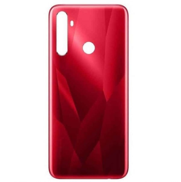 Realme 5s Back Panel Housing Replacement - Red