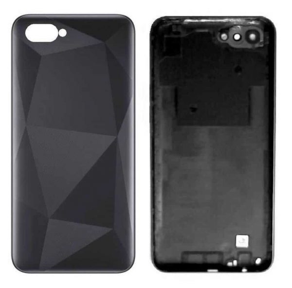 Realme C2 Back Panel Housing Replacement - Black
