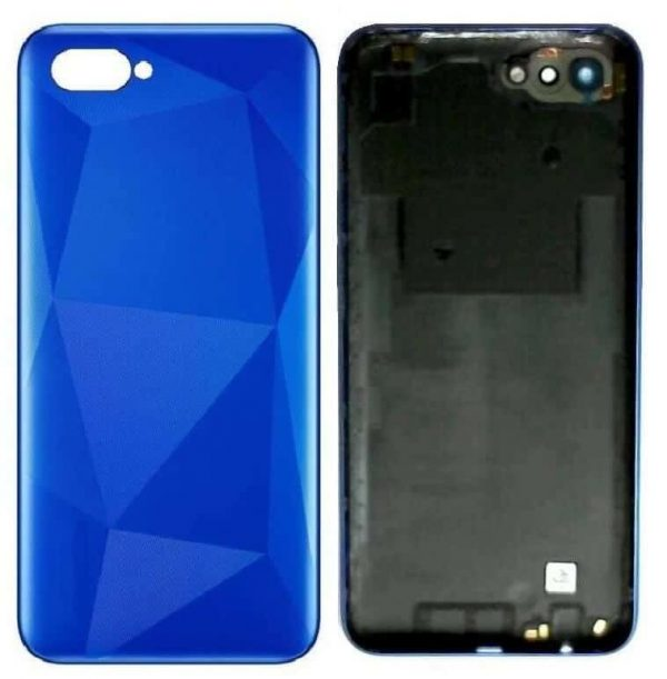 Realme C2 Back Panel Housing Replacement - Blue
