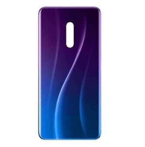 Realme X Back Panel Housing Replacement - Blue